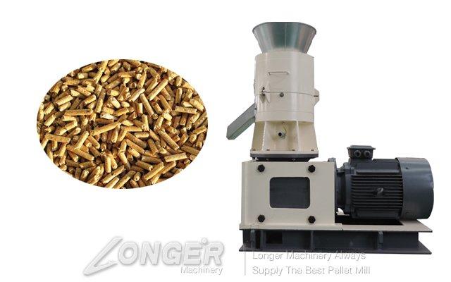 Flat-Die Pellet Mill Machinery LGM3-350