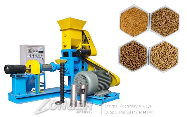 Fish Food Pellet(Floating Feed) Making Machine