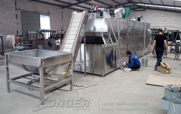 <b>Cocoa Beans Roasting Machine|Continuous Roaster With Conveyo</b>