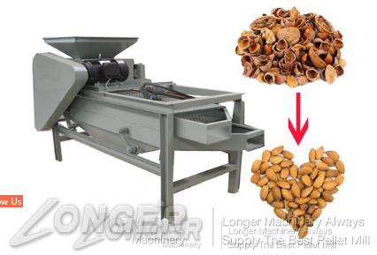 Working principle of shelling machine