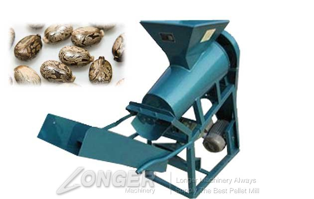 castor seed shelling machine for sale in china