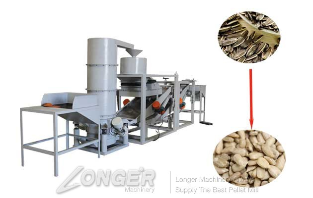 High Efficiency Pumpkin Sunflower Seeds Shelling Machine Aut