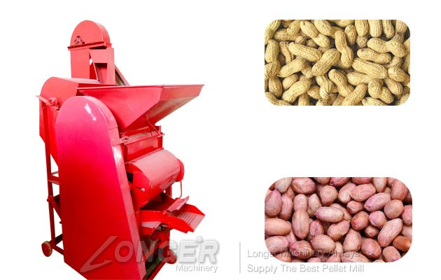 peanut shelling machine with high efficiency