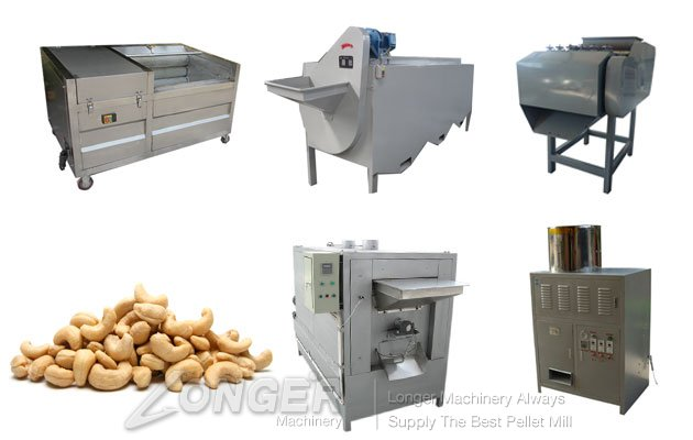 Cashew Nut Processing Equipment Plant