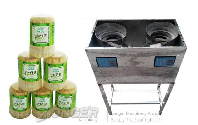 Automatic Plastic Box Toothpick Packing Machine