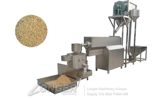 Automatic Sesame Seeds Cleaning and Drying machine