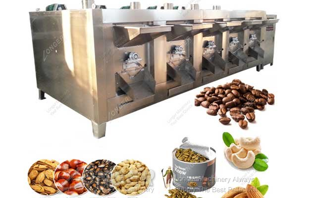 <b>Commercial Nut and Seed Roasting Machine</b>