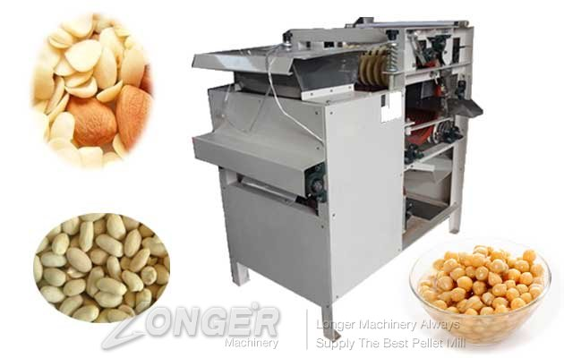 Energy Saving Almond Peeling Machine|Almond Skin Removal Mac