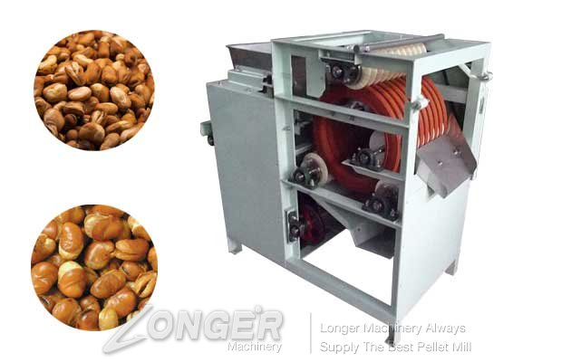 Hot Sale Broad Bean Slitting Machine|Beans Opening Machine