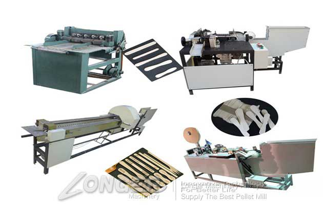 wood  spatula making machine line with best price
