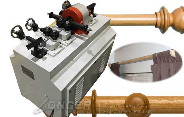 Factory Price Wooden Curtain Rod Machine For Sale