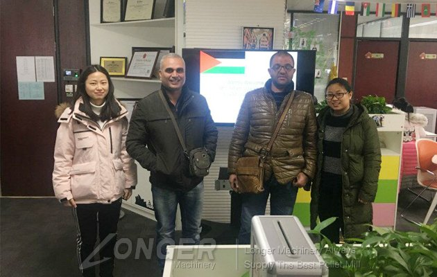 welcome palestine customer visit for nuts process machinery