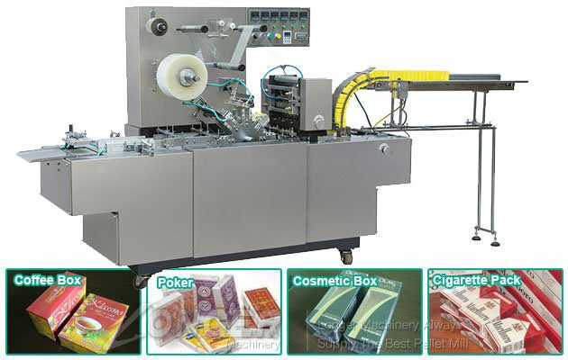 Automatic Cellophane Overwrapping Machine for Shisha Pack