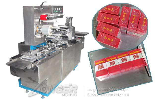Cellophane Cigarette Pack Wrappers Packing Machine