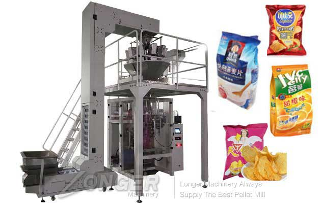 Automatic Potato Chips Weighing and Packing Machine Price