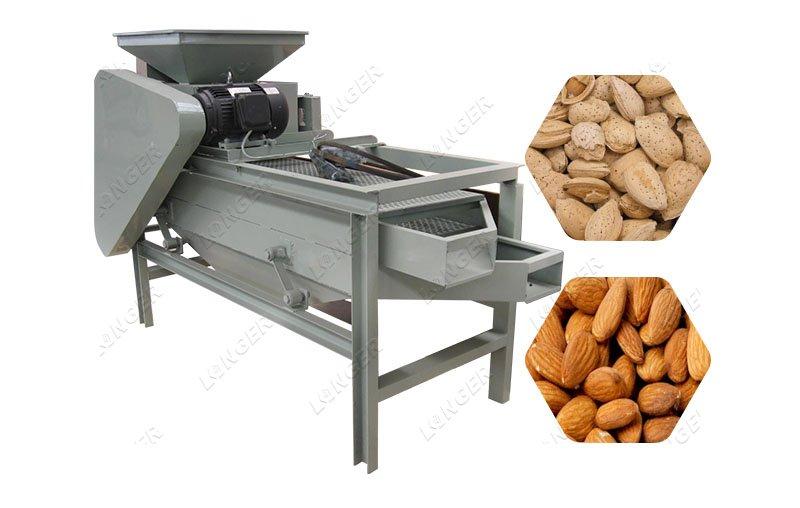 Hazelnut Almond Badam Shelling Machine For Sale