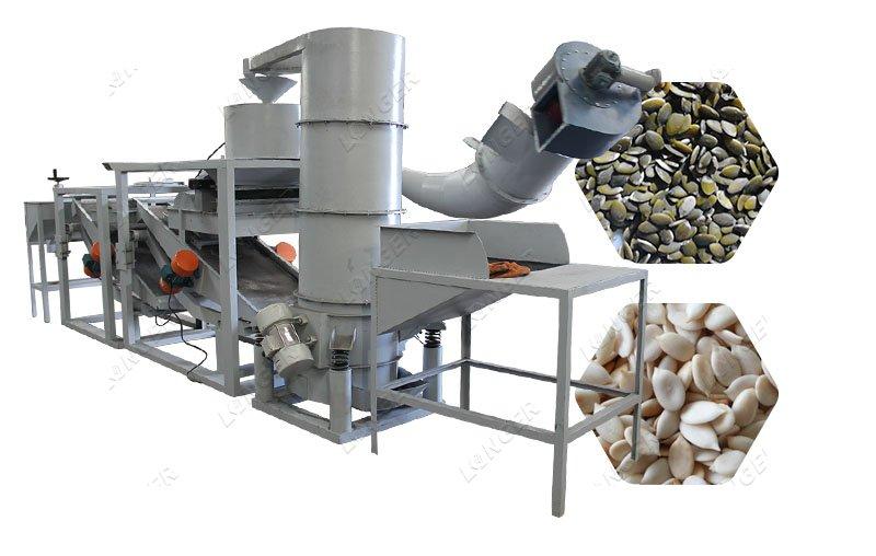 Automatic Pumpkin Seed Shelling Machine for Melon Seed Sunflo