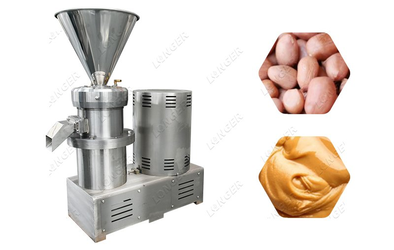Electric Peanut Butter Grinder Machine Commercial Use
