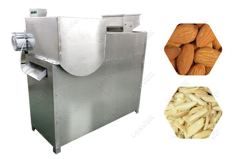 Good Shape Almond Strip Slivering Cutting Machine Supplier