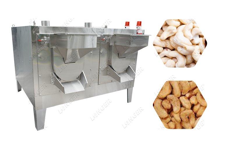 Cashew Kernel Dry Roasting Machine Plant