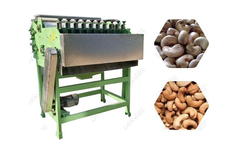 Raw Cashew Nut Shelling Machine Cashew Shell Removing Machine