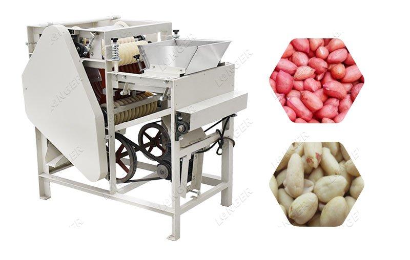 Wet Groundnut Skin Remover Peeling Machine Manufacturer