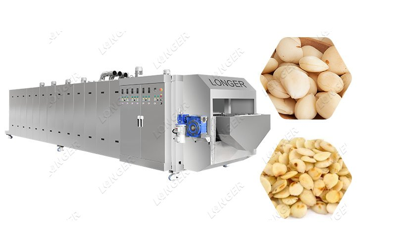Gas Salted Peanut Roaster Machine for Industrial
