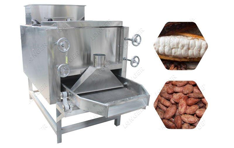 Automatic Cocoa Bean Separating Machine Cocoa Bean Crusher Machine