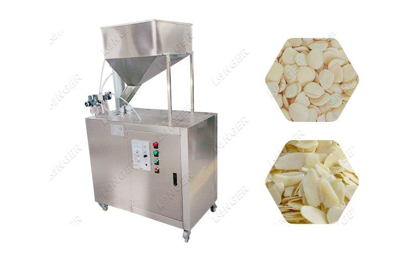 Almond Flak Cutting Machine Almond Pista Slice Cutting Machine