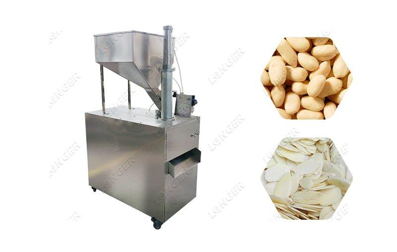 Nut Pistachio Hazelnut Slicing Machine Make Peanut Slice