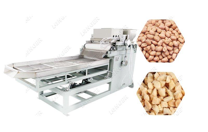 Peanut Particles Crushing Chopping Cutting Machine Peanut Shredder Machine