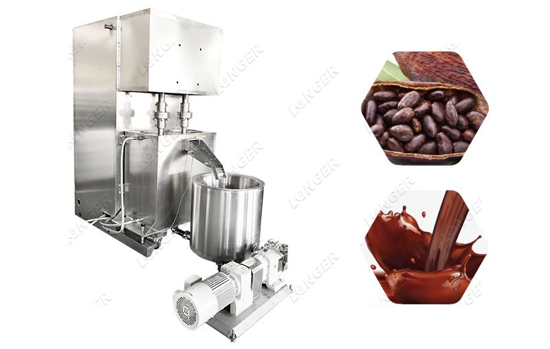 Chocolate Spread Filling Machine Chocolate Grinder Machine