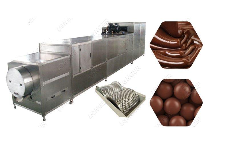 Chocolate Bean Ball Making Machine Automatic