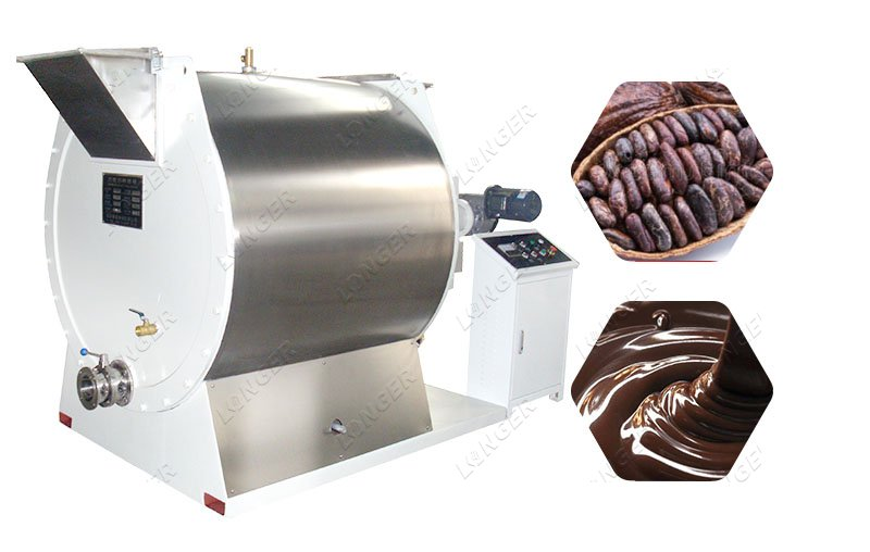 Commercial Chocolate Melanger Machine Chocolate Milling Process