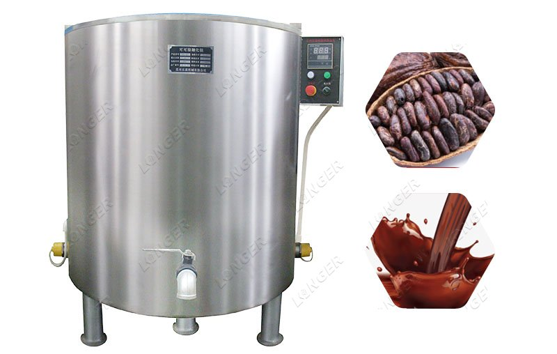 Electric Industrial Chocolate Melting Machine Commercial