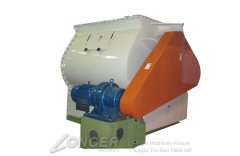 Double-axle Blade Mixer of Feed Pellet Material