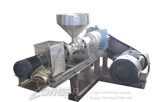 Single Screw Fish Pellet Machinery LG-95/120