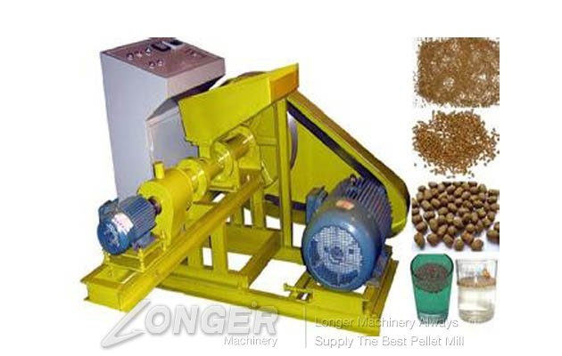 Single Screw Fish Pellet Equipment LG-65/75