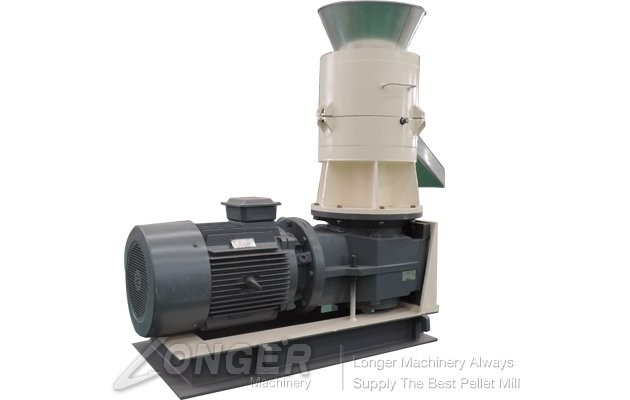 Flat-Die Wood Pellet Mill Machine