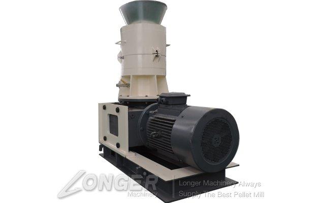 Flat-Die Wood Pellet Mill Machine