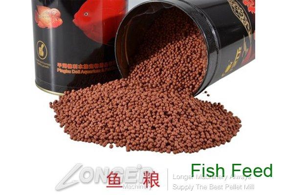 Fish Food Pellet(Floating Feed) Making Machine