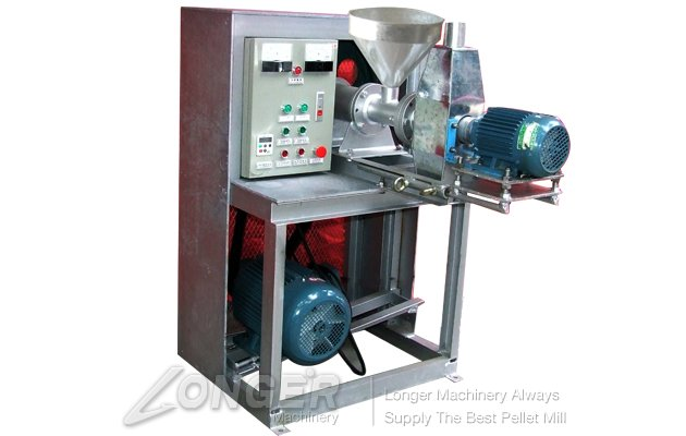 Single Screw Fish Pellet Machine