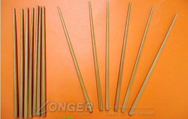 Round Disposable Wooden Chopsticks Making Line