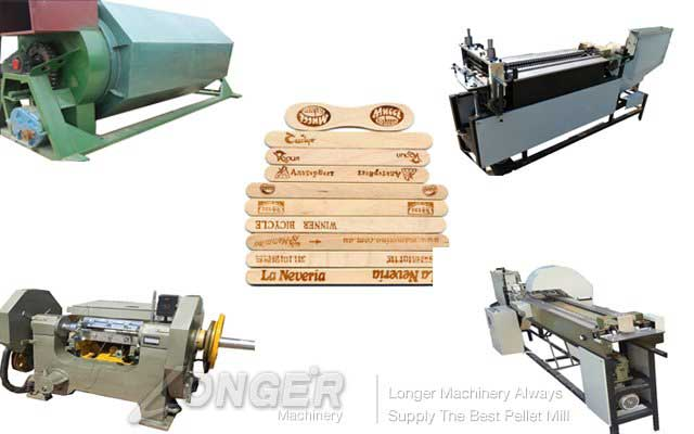 Automatic Wood Tongue Depressor Machine