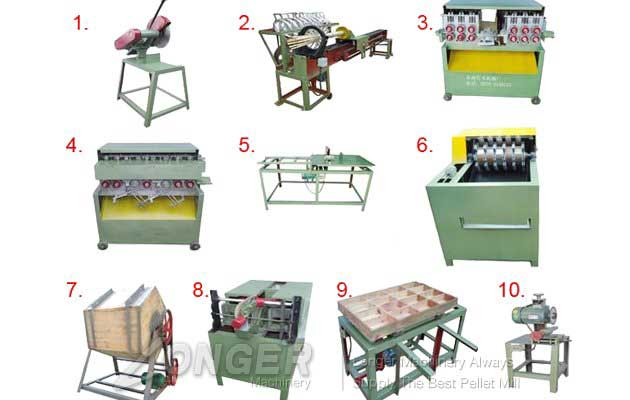 Bamboo Toothpick Processing Machine