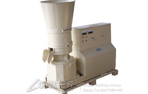 Flat-die Feed Pellet Machine