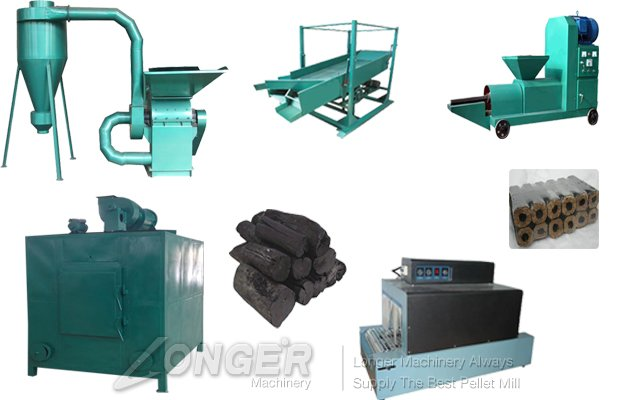 Charcoal Production line