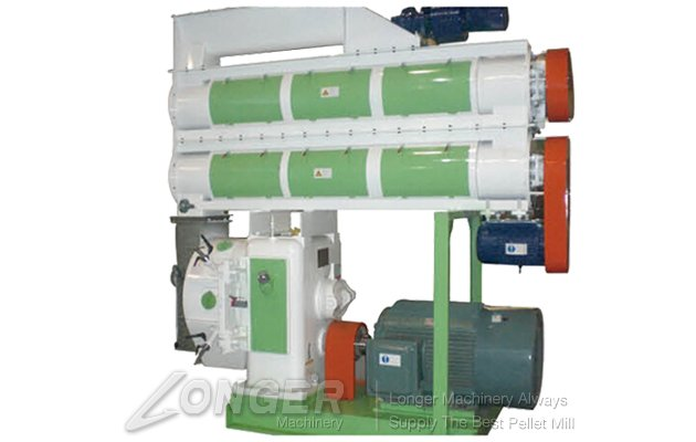Ring Die Biomass Feed Pellet Machine LG-SZLH Series Pelletizer