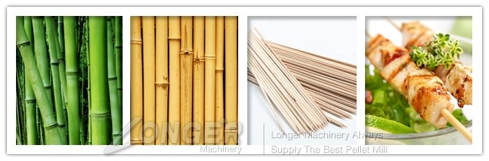 bamboo sticks machine