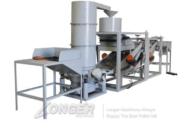 automatic hemp seeds shelling machine